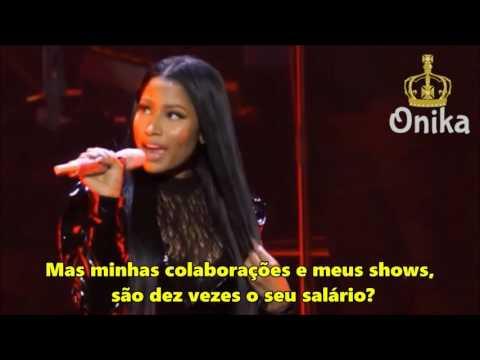 Nicki Minaj - Monster (LIVE) [Legendado/PT/BR]