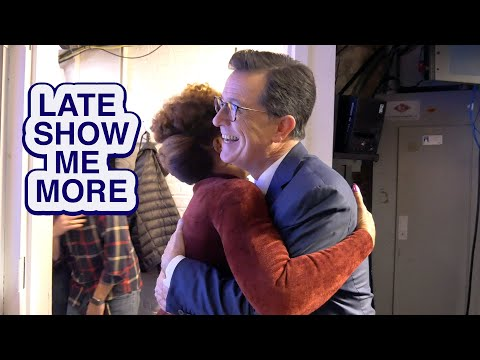LATE SHOW ME MORE: Caught Me in a Private Moment!