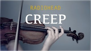 Radiohead - Creep for violin and piano (COVER)