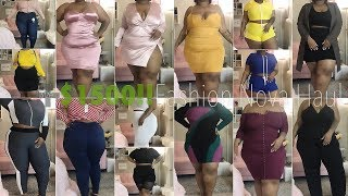 $1500 Try-On Haul!!! WTF. | Fashion Nova Curve / Plus Size | Daquana White