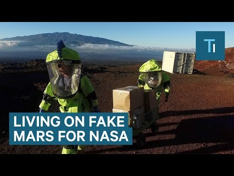 What it's Like Living on Fake Mars