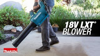 MAKITA 18V LXT® Lithium-Ion Brushless Cordless Blower - Thumbnail