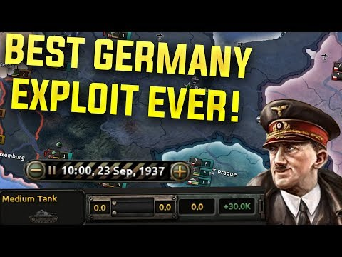 HOI4 The Most OP German Exploit Ever! (Hearts of Iron 4 Man