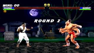 MK1 Kano vs Goro Double Flawless HD