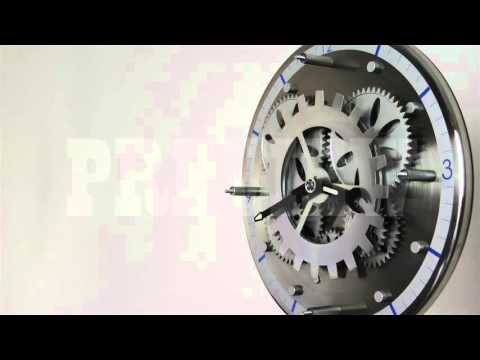 Analog Clock Gears 16