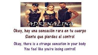 Adrenalina Lyrics English and Spanish - Wisin, Jennifer Lopez, Ricky Martin - Translation