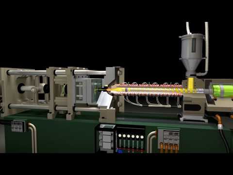 NEW! The Technology of Injection Molding 3-D Animations - YouTube