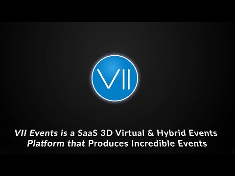 Vii Events - 3D Virtual Events Platform Overview
