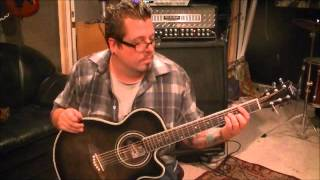 How to play The Chair by George Strait on guitar by Mike Gross