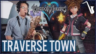 Kingdom Hearts: Traverse Town Jazz Video Game Saxophone Cover