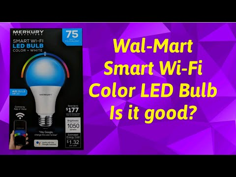 Cheap LED Solutions | Wal-Mart Smart Wi-Fi LED Bulb