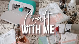Craft With Me Using The Cricut Joy!!!