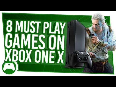Enhanced games to show you the power of Xbox One X! — MMORPG