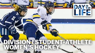 A Day In The Life Of A D-I Womens Ice Hockey Student Athlete