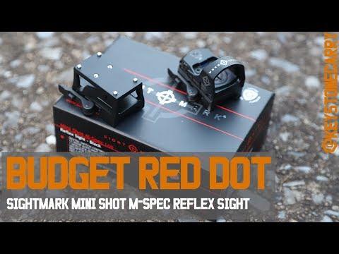 Budget Red Dot   Sightmark Mini Shot M-SPEC