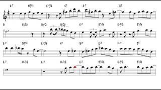 Summertime G Gershwin 1935 Alto Sax