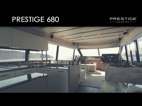 Prestige 680 Flybridgevideo