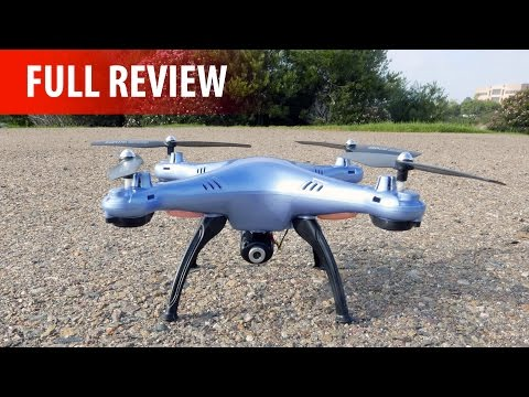 Syma X5HC Unboxing & Full Review - Altitude Hold, 2.0MP Camera, Headless Mode & More!