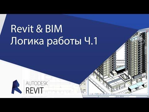 [Урок Revit] Revit & BIM. С чего начинать новичкам. Логика работы. видео