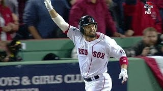 Red Sox take lead on Victorino's grand slam