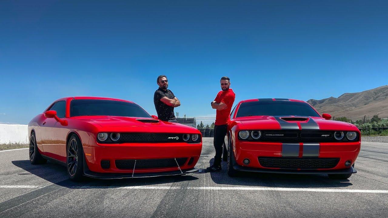 უხეში ტესტ დრაივი – Dodge Challenger SRT vs SRT HELLCAT – ჯოჯოხეთის კატა!
