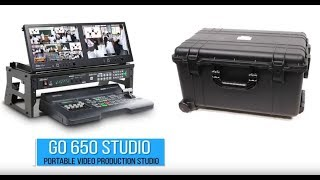 Featured: Datavideo GO-650 Studio Kit | Portable Live Video Production