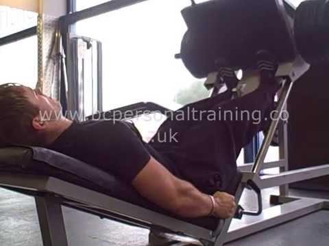 45 Degree Leg Press Calf Raises