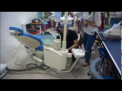 Right/left Arm Position Transferable Dental Chair Unit, Multi-angle swing Arm With The Chair, FDA & CE approved