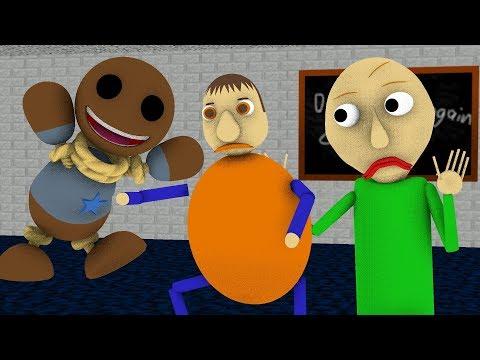 [SFM BALDI] Baldi's Basics In Learning Vs KICK THE BUDDY BUDDY (Animation) (видео)