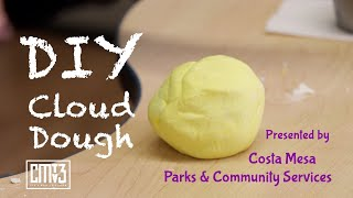 Virtual Recreation - How To Make DIY Cloud Dough
