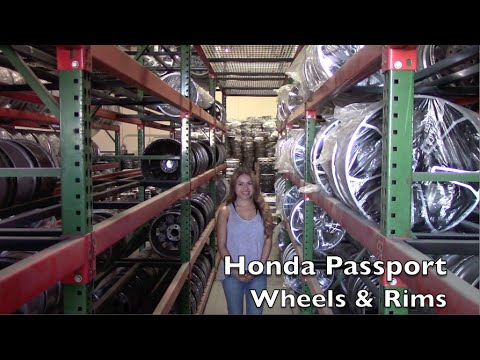 Factory Original Honda Passport Wheels & Honda Passport Rims – OriginalWheels.com