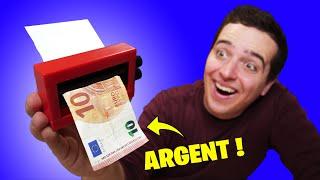 6 EXPÉRIENCES INCROYABLES AVEC DE L'ARGENT !
