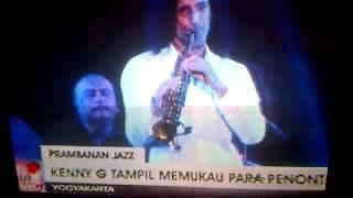 Kenny G In Prambanan Jazz Yogyakarta Indonesia