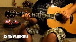 Mary's Boy Child - Christmas Song - acoustic guitar