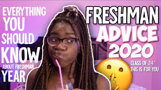 Realistic FRESHMAN Advice 2020 *how To Survive Highschool* | Back To School 2020-2021