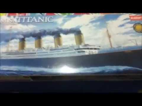 Maquette titanic bateau navire à monter ACADEMY hobby model kits boite 1458