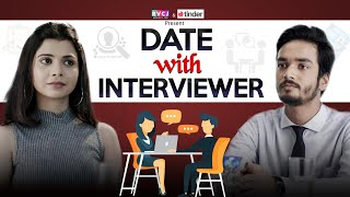 Date With Interviewer   Ft. Shreya Gupto & Parikshit Joshi   RVCJ   Tinder