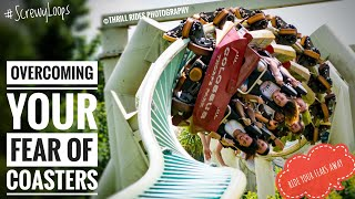 How To Overcome Your FEAR of Roller Coasters!