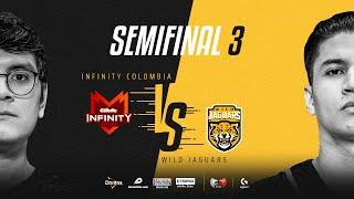 Infinity Esports Colombia VS Wild Jaguars | Semifinales | Golden League Clausura - Playoffs | Mapa 3
