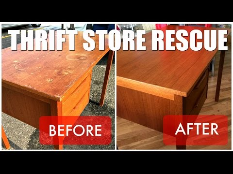 Thrift Store Rescue / Teak Desk Refinish Mp3