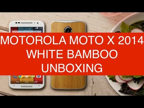 Motorola Moto X 2014 White Bamboo Lollipop, unboxing e prime impressioni