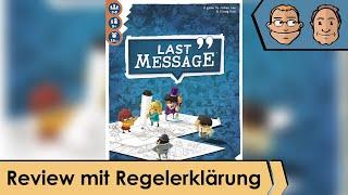 Last Message – Brettspiel – Review und Regelerklärung