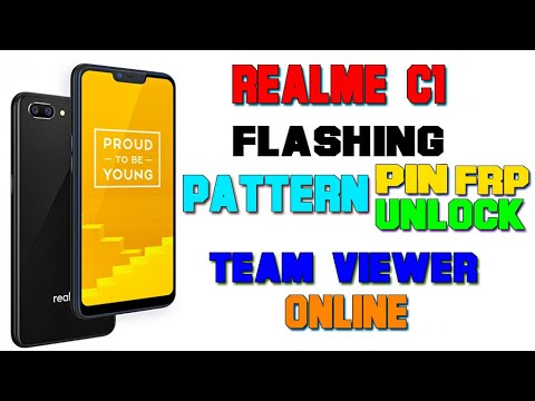 Realme C1 Frp Pattern done by flashing - смотреть онлайн на