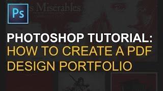 Export Multi Page PDF Portfolio in Adobe Photoshop