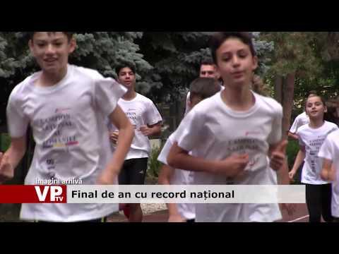 Final de an cu record național