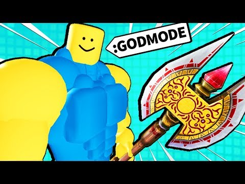 GIVING ROBLOX NOOBS POWERFUL ITEMS...