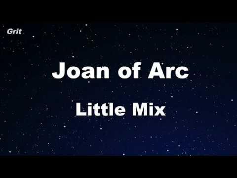Joan of Arc - Little Mix Karaoke 【With Guide Melody】 Instrumental