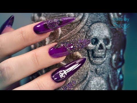 Goth •Special• Sculpted Acrylic Nails  letöltés