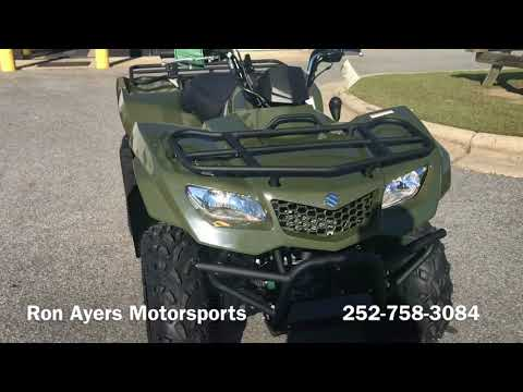 2018 Suzuki KingQuad 400FSi in Greenville, North Carolina - Video 1
