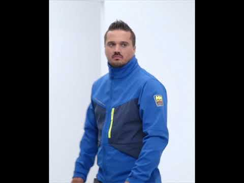 Veste softshell Aker bleue taille XL